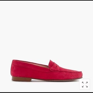 J.Crew suede loafer. Brand New. Made in Italy.